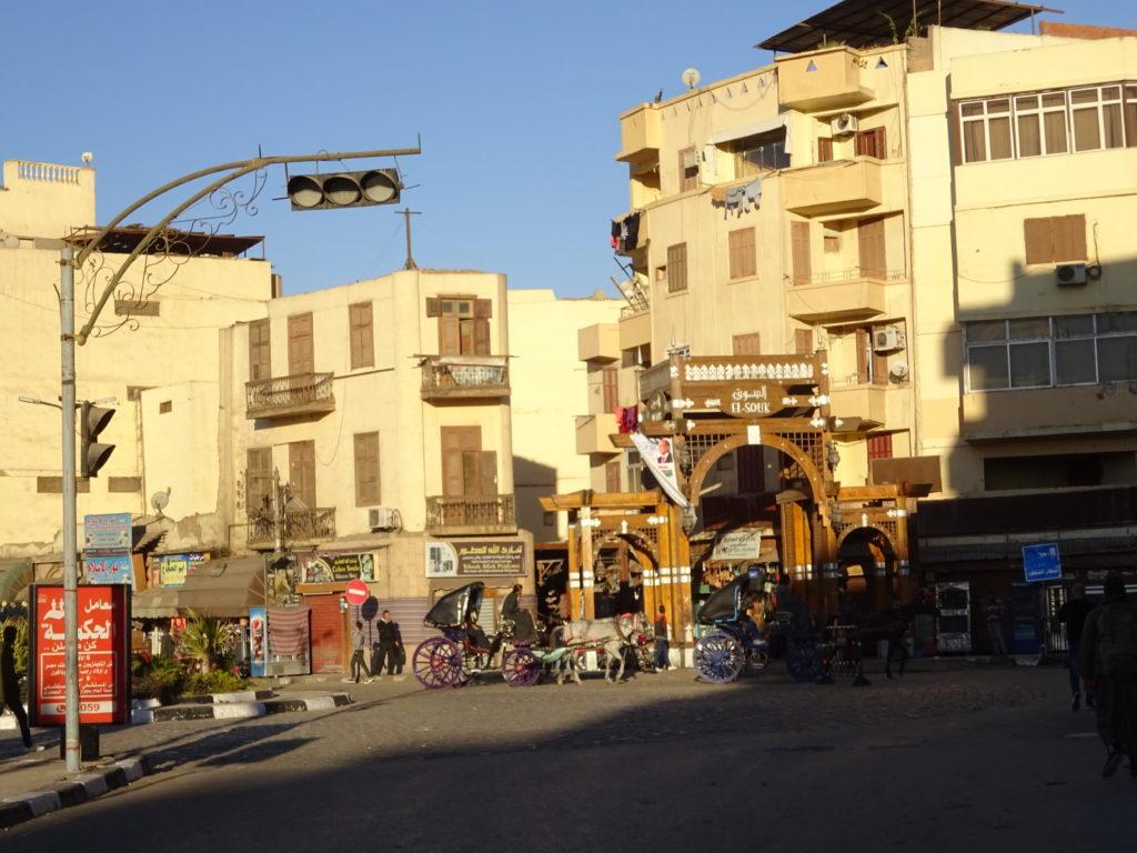 エジプトのルクソール市内の治安
