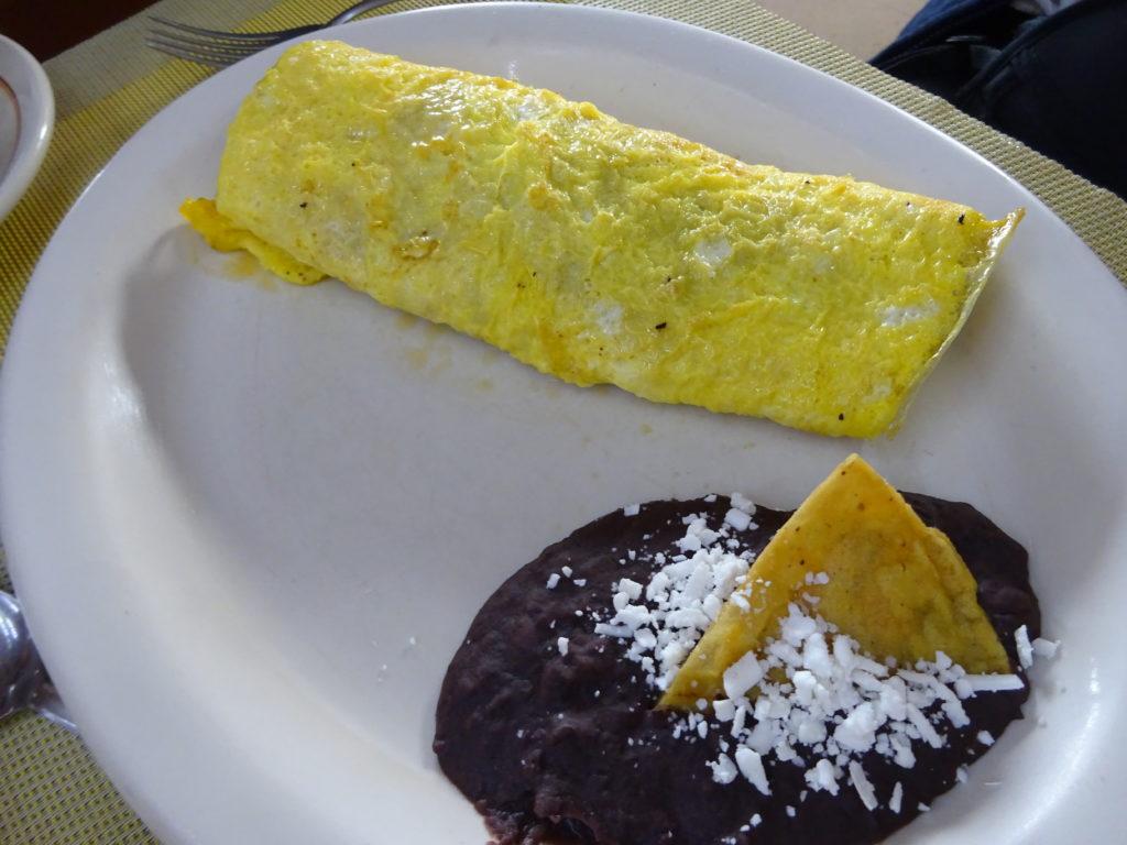 Cafe La Habanaのオムレツ