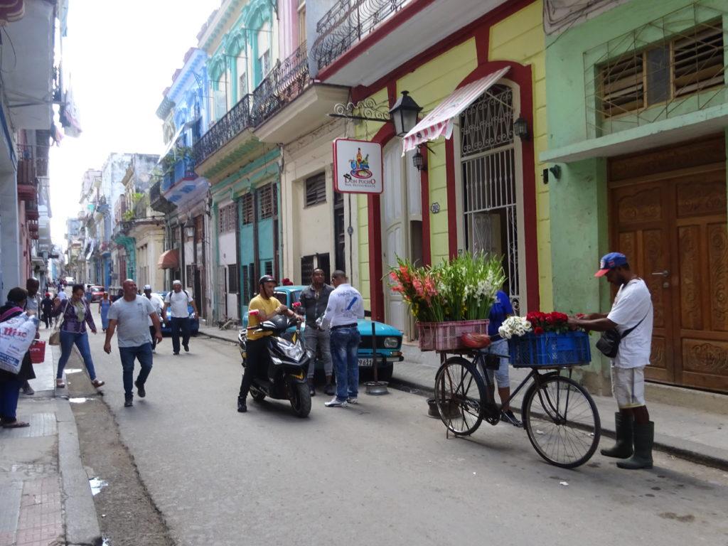 キューバの街並み