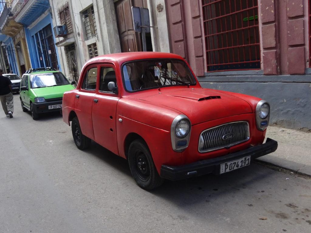 キューバのレトロな車