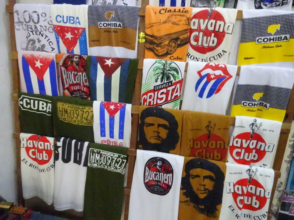 キューバで見つけたチェ・ゲバラTシャツ