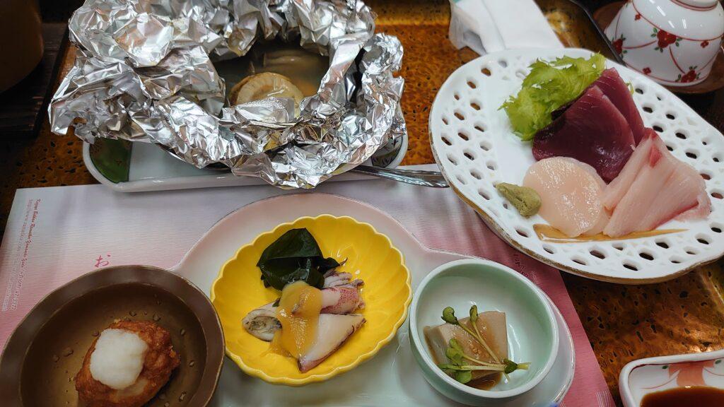 らまっころ山猫宿のお食事