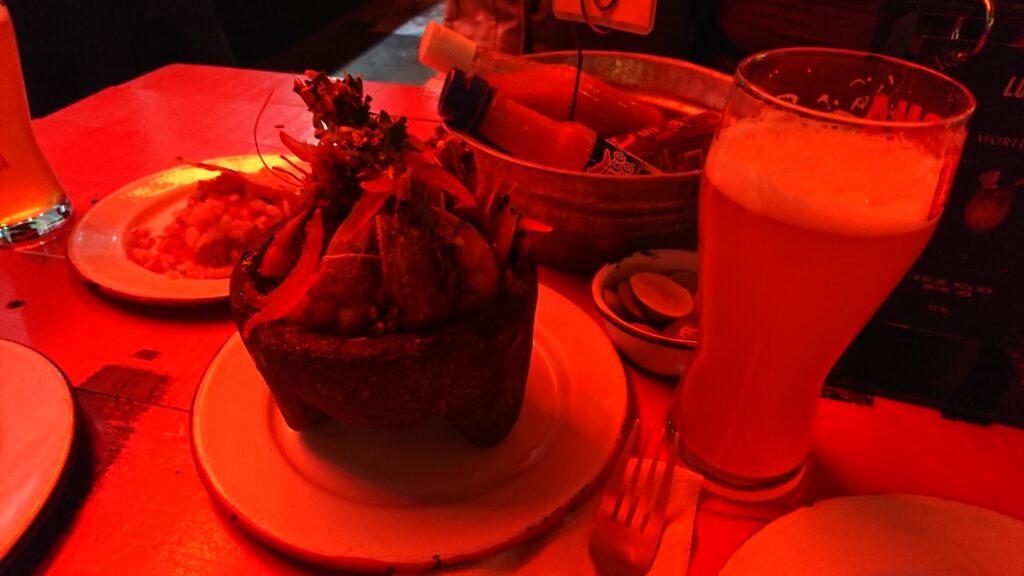 Lucerna Comedorの料理