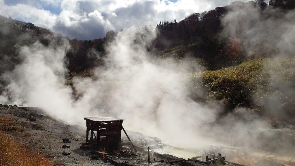 強酸性のお湯が特徴の玉川温泉