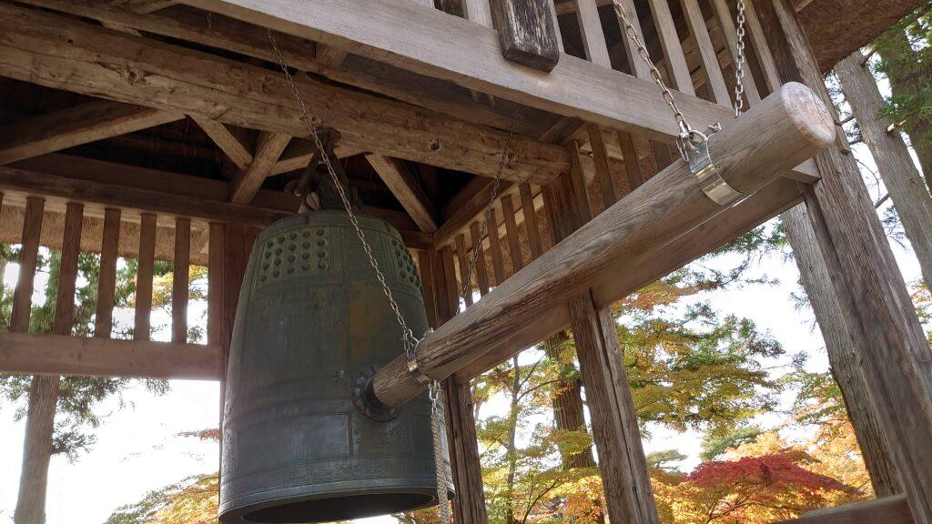毛越寺の鐘楼