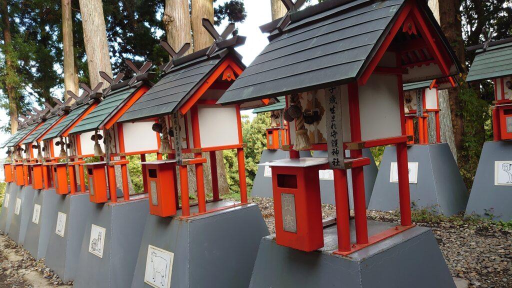 中尊寺のお賽銭箱