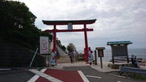 山口県長門市の元乃隅稲成神社