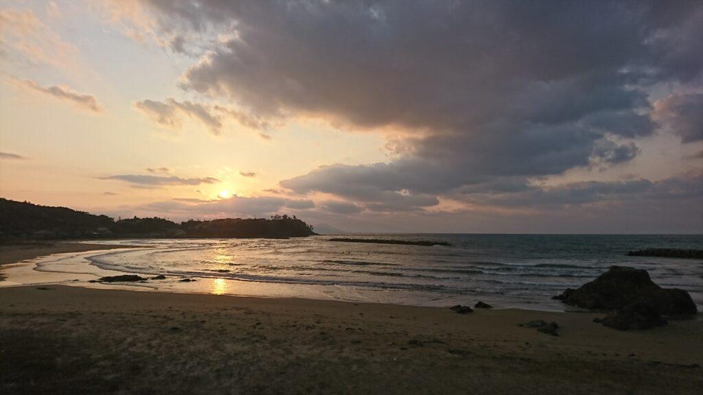 島根県益田市の美しい日本海