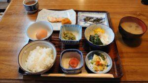 青森県南津軽郡大鰐町の正観湯温泉の朝食