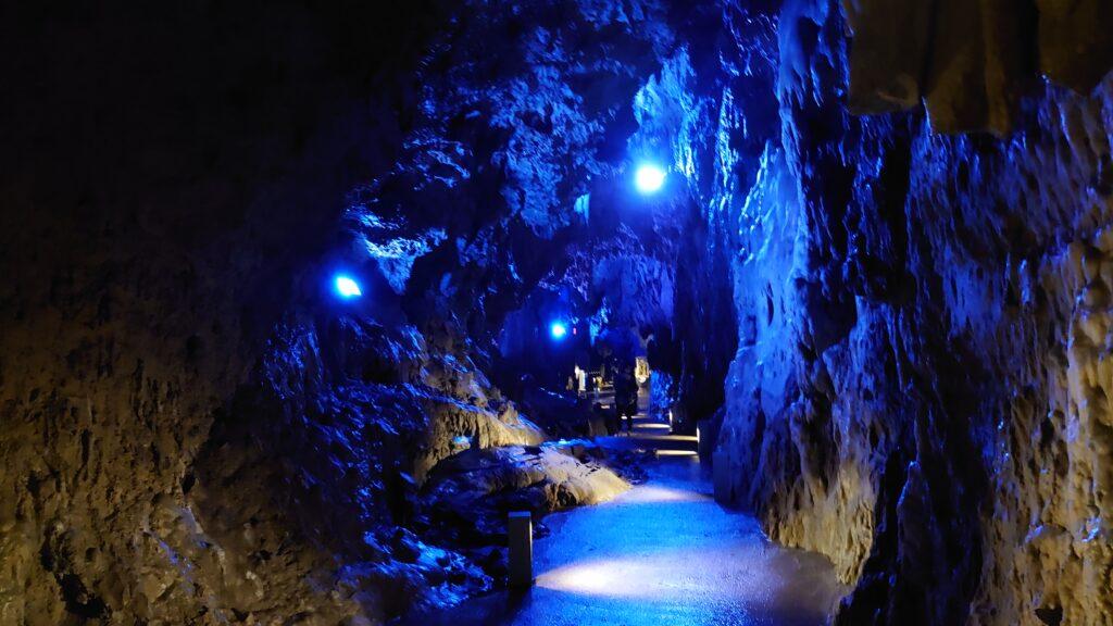 龍泉洞のハートマーク