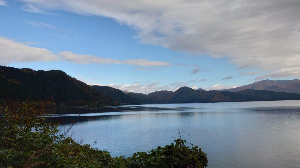 秋田県仙北市の田沢湖
