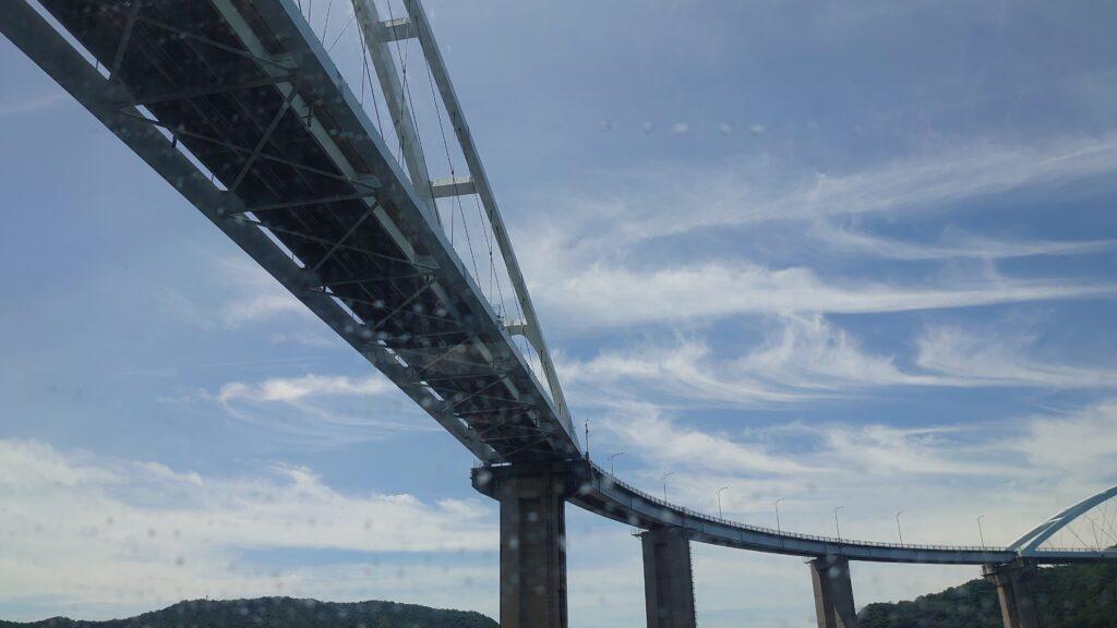 尾道から鞆の浦まで船旅
