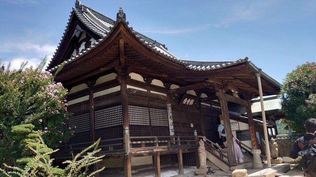 広島県福山市の鞆の浦の對潮楼