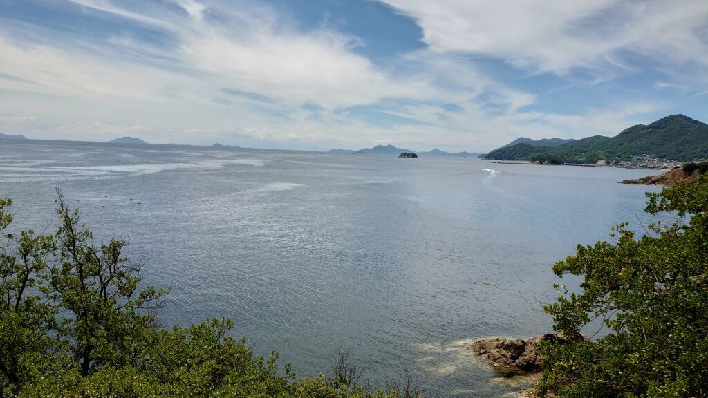 広島県福山市の仙酔島
