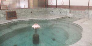 山口県長門市の湯本温泉の玉泉閣の楊貴妃の湯
